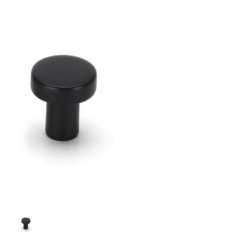 Handtag Kok Svart : knopp 31135 svart knopp 31135 med utforande i svart och o19 mm hojd